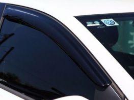 Ветровики VW Polo V (09-17) 3D - Hic (накладные)