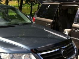 Мухобойка VW Touareg I (2002-2010) - Hic