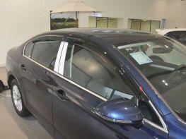 Ветровики VW Passat B8 (15-) Sedan - HIC (накладные)