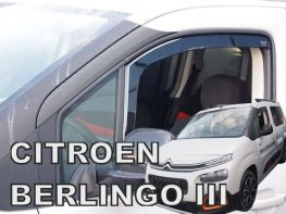 Ветровики CITROEN Berlingo III (19-) - Heko (вставные)