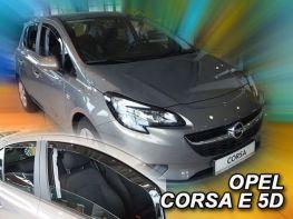 Ветровики OPEL Corsa E (14-19) 5D - Heko (вставные)