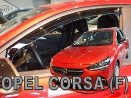 Ветровики OPEL Corsa F (19-) 5D - Heko (вставные)