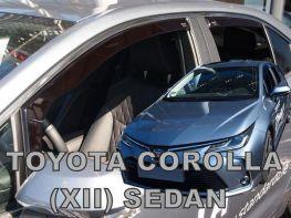 Ветровики TOYOTA Corolla XII (19-) Sedan - Heko (вставные)
