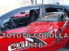 Ветровики TOYOTA Corolla XII (19-) 5D HB - Heko (вставные)