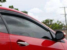 Ветровики HONDA Civic VIII (06-12) 5D Hatchback - Hic (накладные)