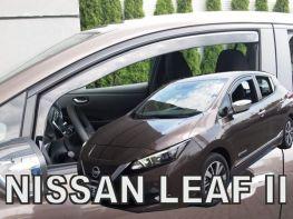 Дефлекторы окон NISSAN Leaf II (18-) - Heko (вставные)