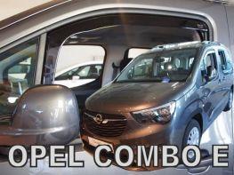 Ветровики OPEL Combo E (18-) - Heko (вставные)