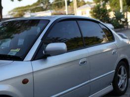 Ветровики SUBARU Legacy IV BL (03-09) Sedan - Hic