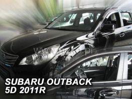 Ветровики SUBARU Outback IV BR (10-14) - Heko (вставные)