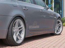 """Накладки на пороги BMW 5 E60/E61 (03-07) """"SCHNITZER"""""""