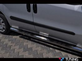 Трубы боковые FIAT Doblo II (2010-) пороги