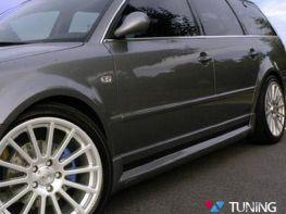 Накладки на пороги+двери VW Passat B5 (96-05)