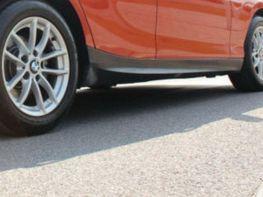 "Накладки на пороги BMW 1 F20 / F21 (11-15) ""M-Tech"""