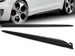 """Накладки на пороги VW Golf VI (08-12) HB """"GTI"""""""