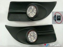 Противотуманки FIAT Doblo II (2010-2014) LED диодные