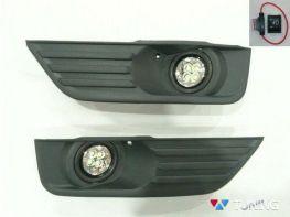 Противоутманки FORD Focus II (04-08) LED диодные
