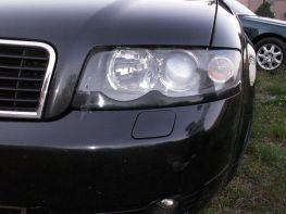 Реснички на фары AUDI A4 B6 (2000-2004) нижние
