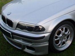 Реснички на фары BMW E46 (1998-2003) прямые