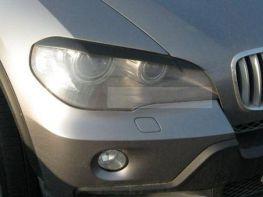 Реснички на фары BMW X5 E70 (2006-2013)
