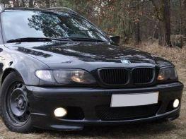 Реснички на фары BMW E46 (2003-2007) ABS