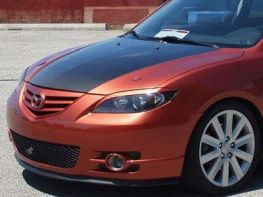 Реснички на фары MAZDA 3 (BK) (2003-) Sedan