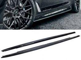 Диффузоры порогов BMW 5 G30/G31 M (17-) - M-Performance (глянцевые)