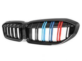 Решётка BMW 3 G20 / G21 (18-) - цветные двойные рёбра