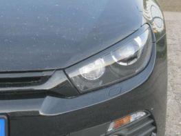 Реснички на фары VW Scirocco III (2008-2014) ABS