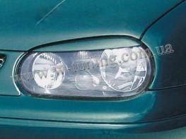 Реснички VW Golf IV (1997-2003) прямые ABS