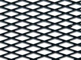 Сетка пластиковая ячейка ромб 12х7 мм для тюнинга