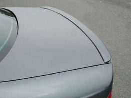 Спойлер багажника лип BMW E46 резиновый