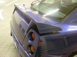 Спойлер багажника FIAT Coupe (93-00) - Aurora стиль