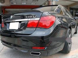Спойлер багажника BMW 7 F01 (08-15) Sedan
