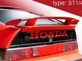 "Спойлер HONDA CRX II (1987-1992) ""ST1"""