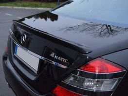 Лип спойлер багажника MERCEDES S W221 (05-13) - Польша