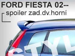 Спойлер - козырёк FORD Fiesta Mk6 (2002-2008)