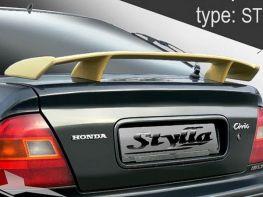 """Спойлер HONDA Civic VI (95-) 5D Liftback """"ST3"""""""