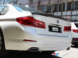 Спойлер багажника BMW 5 G30 (2017-) - M4