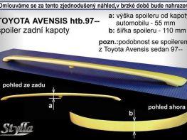 Спойлер багажника TOYOTA Avensis I T220 (1997-2003) Liftback