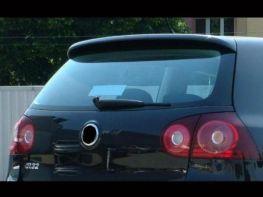 "Спойлер над стеклом VW Golf V HB ""GTI Look"""