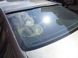 Бленда на стекло VW Passat B6 (05-10) Sedan - ABS