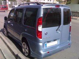 """Спойлер FIAT Doblo (2000-2009) """"ANATOMIC"""" распашонка"""