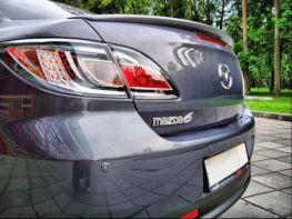 Спойлер багажника лип MAZDA 6 II (2007-2012) ABS