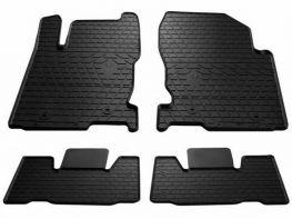 Чёрные коврики в салон LEXUS NX 200/300H (2014-) - резиновые