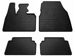 Коврики резиновые салона BMW i3 I01 (13-) - PREMIUM чёрные