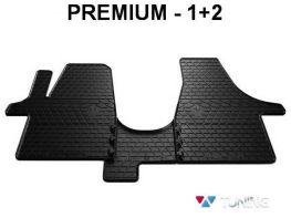 Коврики резиновые передние VW T5 (03-15) - PREMIUM