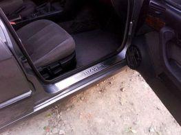 Хром накладки на пороги BMW E34 (1988-1995)