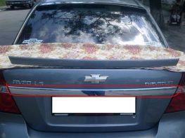 Хром накладка над номером CHEVROLET Aveo T250 Sedan