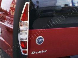 Хром накладки на стопы FIAT Doblo (2000-2005)