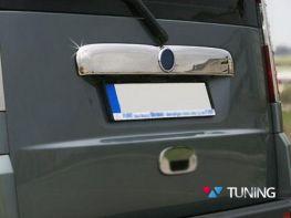 Хром накладка над номером багажника FIAT Doblo I (06-09)